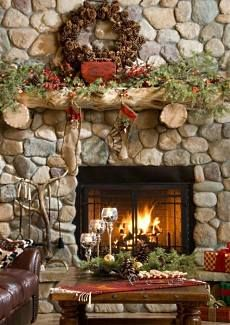 Style And Design Your Individual Enterprise Playing Cards In The Home 50 Most Beautiful Christmas Fireplace Decorating Ideas Christmas Celebrations Christmas Fireplace, Christmas Mantels, Noel Christmas, Country Christmas, Winter Christmas, Christmas Decorations, Xmas, Cabin Christmas, Christmas Centerpieces