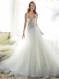 2018 A Line Prom Dress Modest Beautiful Cheap Long Prom Dress, M1271