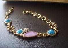 New fashion charming flower turquoise bracelet lady's gift jewelry sl37