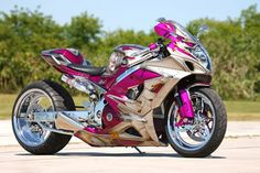 Pink and Purple Motorcycles for sale   gsxr haters - Page 3 - Sportbikes.net