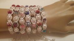 Winter KaAbland Shamballa bracelets