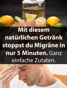 With this natural drink you stop migraine. With this natural drink you stop migraine. Health Diet, Health And Nutrition, Health Fitness, Healthy Women, Healthy Tips, Healthy Habbits, Naturopathy, Health Education, Better Life