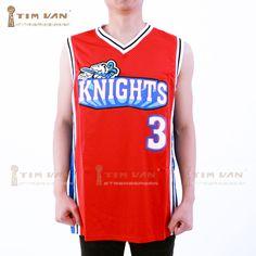 TIM VAN STEENBERGEB Knights Basketball Jersey  Cambridge 3 Stithed Sewn-Red