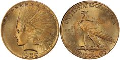 1909 S $10 Indian Gold PCGS MS66+ CAC sold for $146,875 at the Legend Rare Coin Auctions Regency Auction XXIII in Philadelphia, Pennsylvania, October 26, 2017...Also included in this auction was the Crow River Collection of $10 Gold Indians. This is the #2 PCGS Registry Set of $10 Indian Gold. One of the top coins in this portion of the sale was the 1909 S in PCGS MS66+ CAC, selling for $146,875; there are a total of seven graded at this level with just two holding the CAC sticker....