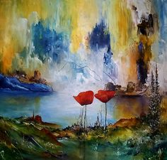 Autor...  Kurt Olsson Técnica ...  Acrílico sobre lienzo 100x100 cm  Título..,  Sueñen conmigo