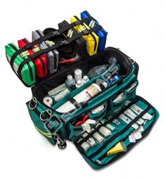 EB- Emergency medical bag CRITICAL'S Color code the bags by usage (ie. wounds, burns, iv, etc) Survival Items, Survival Tools, Survival Prepping, Emergency Preparedness, Survival Gadgets, Emergency Kits, Urban Survival, Emergency Response, Homestead Survival