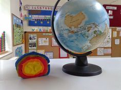 Στο σχολείο : ΣΕΙΣΜΟΟΟΟΣ!!! Globe, School, Space, Floor Space, Speech Balloon, Spaces