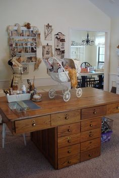 tarnished and tattered: love this studio tour!