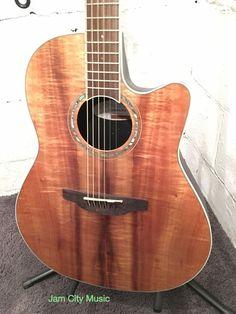 Ovation Celebrity CS24P Fkoa Koa Acoustic Electric Guitar Tuner Pre Amp EQ | eBay
