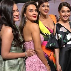 Bollywood actressess at 63 filmfare awards 2018 Bollywood Stars, Bollywood Fashion, Beautiful Girl Indian, Most Beautiful Indian Actress, Bollywood Celebrities, Bollywood Actress, Beautiful Celebrities, Beautiful Actresses, Preity Zinta
