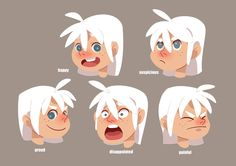 Character design Luli and Bryce on Behance