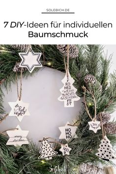 Homemade Xmas Decorations, Clay Christmas Decorations, Christmas Ornaments, Homemade Christmas, Kids Christmas, Diy Weihnachten, Holiday Crafts, Creations, Merry