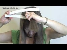 CreaClip - How to cut a 3 layer hairstyle with lots of layering and volume.