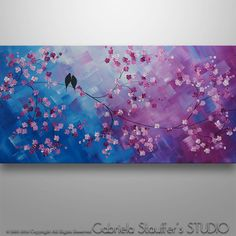 Abstract PaintingTree Painting Landscape Painting Asian by Catalin
