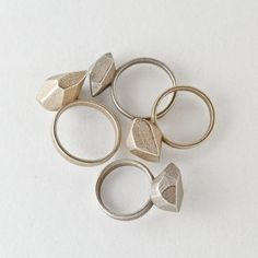 Large Rock Ring - Stainless