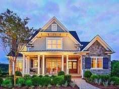 Craftsman style homes craftsman house plan with square feet and 4 bedrooms from dream home source . craftsman style homes Style At Home, Craftsman Style House Plans, Craftsman Exterior, Craftsman Houses, Craftsman Cottage, Wall Exterior, Exterior Houses, Craftsman Bathroom, Cottage Style House Plans