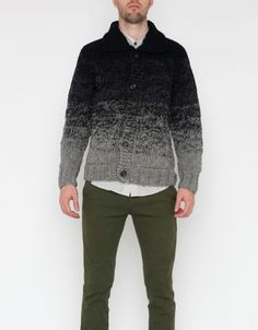 Ombre Hand Knit Sweater