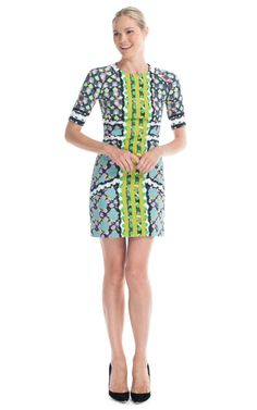 bold color & pattern- Peter Pilotto Lime RG