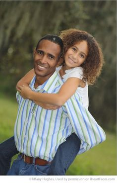 Dad & Me: Photo Ideas for Fathers Day - Portrait by Tiffany Hughes via iHeartFaces.com