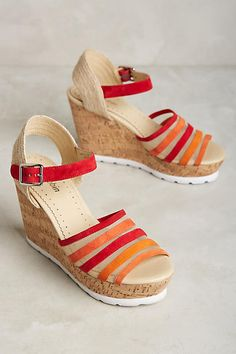 Farylrobin Lacey Wedges - anthropologie.com