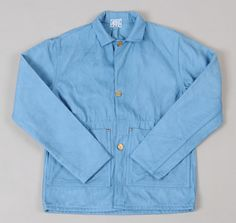 TENDER CO.: Type 915 Beaverteen Guard's Jacket, Woad-Dyed