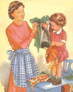 """Que bom que o tempo vai passando e a rotina muda, as pessoas mudam e os direitos e deveres mudam junto com o tempo. Em 1950 as mulheres viviam de forma submissa, era correto que elas fizessem a """"lição de casa"""". Arrumar, limpar e deixar tudo pronto para quando o seu marido chegasse do trabalho, …"""