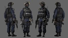 GIGN by Namhee Park on ArtStation.