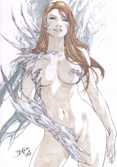 Witchblade by Ed Benes Comic Art Auction your comics on http://www.comicbazaar.co.uk