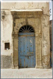 blue doors in Marrakesh, Morocco by mhobl