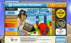 Gamestar Mechanic resources from ASU's Center for Games & Impact
