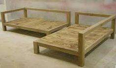 Resultado de imagen para sofá madeira varanda
