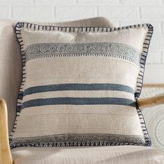 Mercer41 Hepp Applique Velvet Throw Pillow | Wayfair