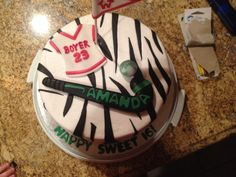 Hockey Cakes, Cake Images, Field Hockey, Cake Decorating, Sweet, Desserts, Cake Pictures, Candy, Tailgate Desserts