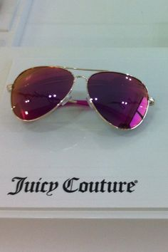 The new pink sunglasses, juicy couture