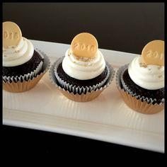 Happy New Year   Fondant   Cupcake