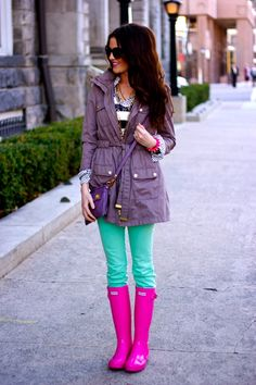 Colors colors colors.. i like the boots