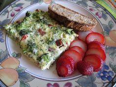 Delicious Chicken Sausage, Broccoli, and Mozzarella Frittata