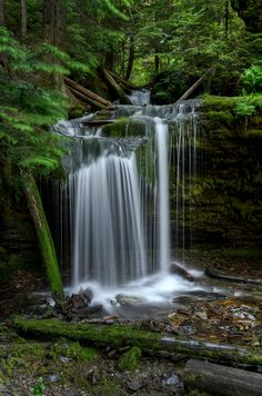 Fern Falls, North Idaho