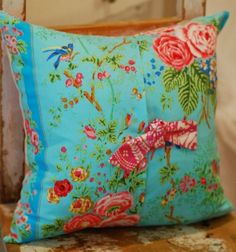 shabby chic throw pillows | Decorative Throw Shabby Chic Pillow Cover 16 x by KenilworthPlace