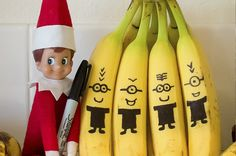 For the Minion loving kid, the Olaf fan, and much more! Super cute elf on the shelf ideas!
