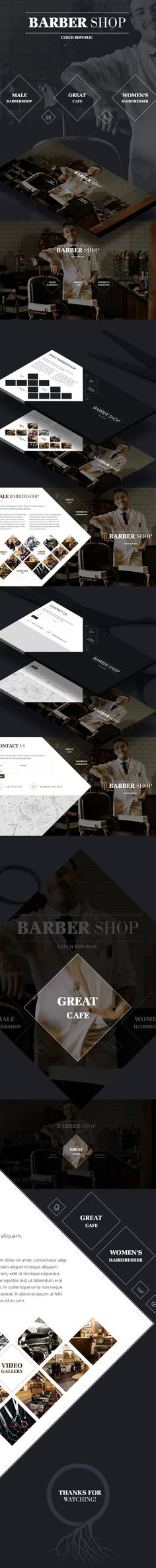 Barbershop Czech Republic on Behance