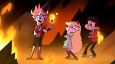 "The opening titles of Disney's new TV series ""Star vs. The Forces of Evil."" I'll take it."
