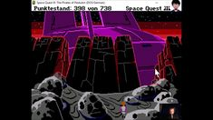"""Let's Play """"Space Quest 3"""" - 005 Lava - #letsplay #retrogaming #DOS"""
