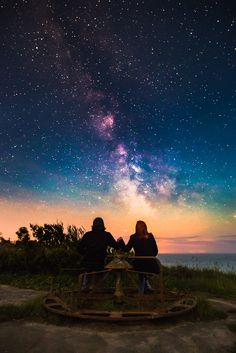 The Lost Playground - Blackgang Chine, Isle of Wight, UK. Beautiful Sky, Beautiful World, Pretty Pictures, Cool Photos, Sky Full Of Stars, To Infinity And Beyond, Isle Of Wight, Milky Way, Stargazing