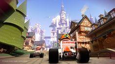 #F1RaceStars - gamescom - In-game screenshot showing the Germany track