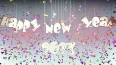 Happy New Yaer by Paweł Bystrzycki, via Behance