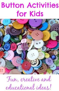 Button Activities for Kids
