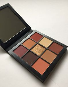 Huda Beauty Obsessions Warm Brown Palette Review