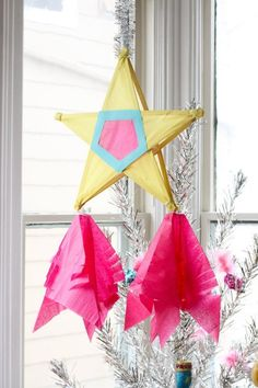 DIY Filipino Christmas Star Parol Decoration | Apartment Therapy