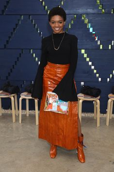 See Selah Marley Slay at London Fashion Week Fashion Line, 90s Fashion, Hijab Fashion, Fashion Outfits, Selah Marley, Marley Family, Lauryn Hill, Big Chop, African Beauty